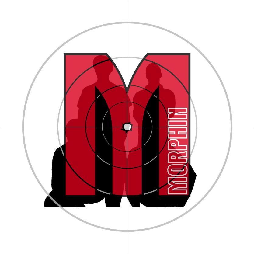 Morphin Logo Rund