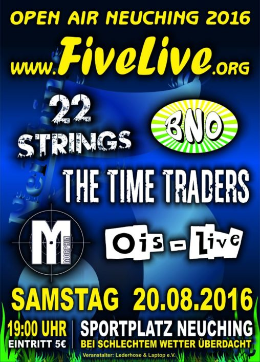 FiveLive Poster 20. August 2016