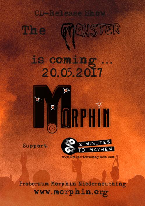 Monster Show Flyer